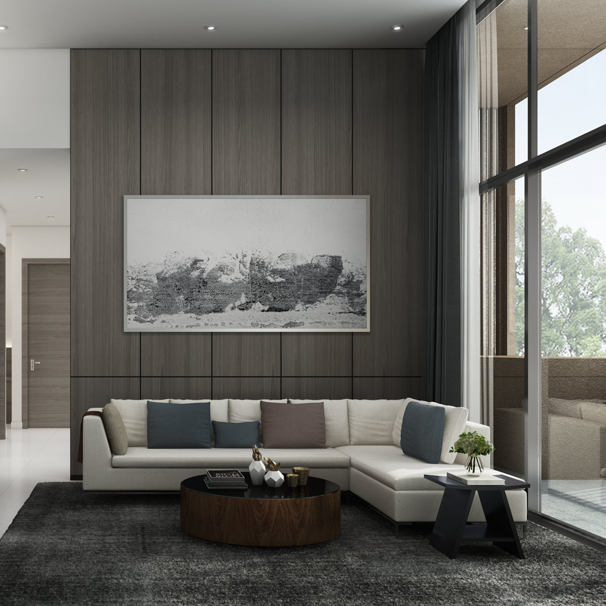 Laminate Feature Wall