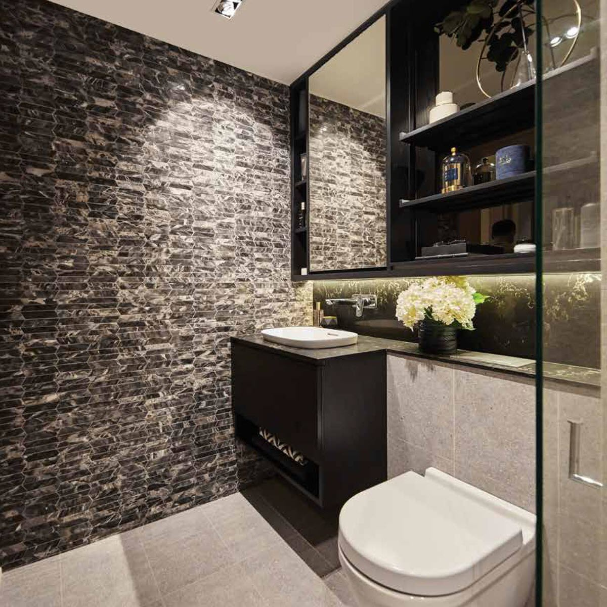 Tiles Feature Wall