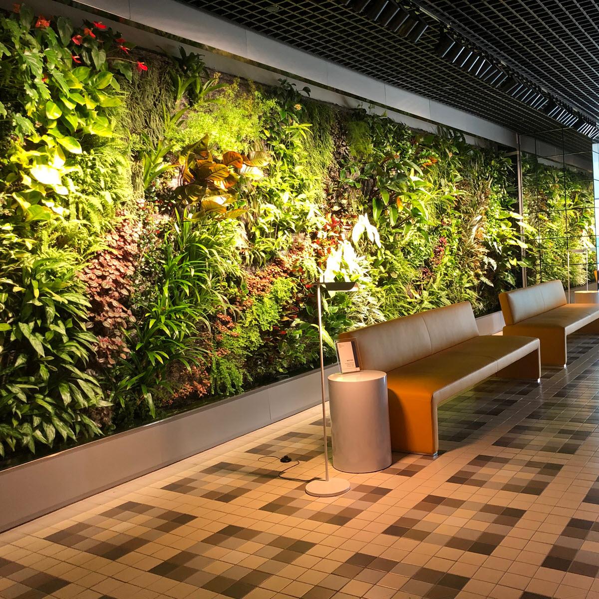 Feature Wall Design - Vertical Garden Feature Wall 01