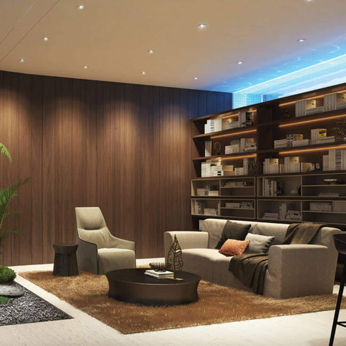 Feature Wall Design - Wood Feature Wall